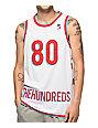 The Hundreds Era White Basketball Jersey
