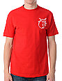 The Hundreds Simple 2 Red T-Shirt