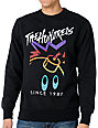 The Hundreds Ski Adam Black Crew Neck Sweatshirt