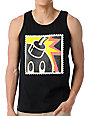 The Hundreds Stamp Adam Black Tank Top