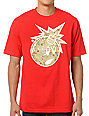The Hundreds x Diamond Supply Adam Bomb Red Logo T-Shirt