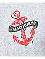 The Mad Hueys Deckhand Heather Grey T-Shirt