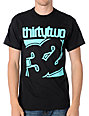 Thirtytwo New Combo Black & Mint T-Shirt
