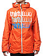 Thirtytwo Shakedown Orange 10K Snowboard Jacket
