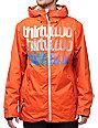 Thirtytwo Shakedown Orange 10K Snowboard Jacket