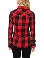 Thread & Supply Stretch Red Plaid Shirt