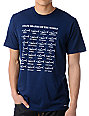 Toddland State Sharks Of The World Navy T-Shirt