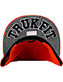 Trukfit Feelin Spacey Tango Orange Snapback Hat