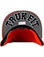 Trukfit Feelin Spacey Tango Orange Snapback Hat