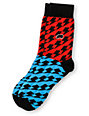 Trukfit Thunderbolt Red & Blue Crew Socks