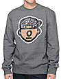 Trukfit Trippy Tommy Heather Grey Crew Neck Sweatshirt