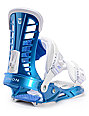 Union Atlas Metallic Blue Snowboard Bindings