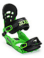 Union DLX Green Snowboard Bindings