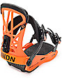 Union Flight Pro Orange Snowboard Bindings