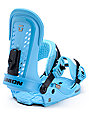 Union Force Blue Snowboard Bindings