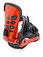 Union T-Rice Metallic Red Snowboard Bindings