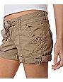 Unionbay Bobbie Khaki Convertible Shorts