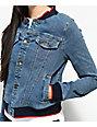 Unionbay Vintage Lorimer Denim Bomber Jacket