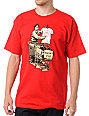Upper Playground Bubbles Depot Red T-Shirt