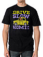Upper Playground Drive Slow Black T-Shirt