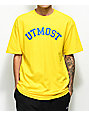Utmost Co. Arc Logo Yellow T-Shirt