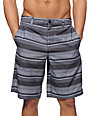 Valor Salvador Charcoal Stripe Hybrid Shorts