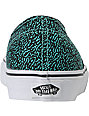 Vans Authentic Speckle Blue Turquoise Skate Shoes