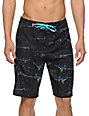 Vans Black Sharks 21 Board Shorts
