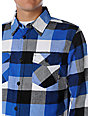 Vans Box Royal Blue Flannel Shirt