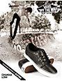 Vans Chukka Black Leather Skate Shoes