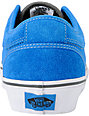 Vans Chukka Low Bright Blue & Pewter Skate Shoes (Mens)