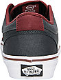 Vans Chukka Low Burgundy & Grey Skate Shoes