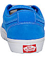 Vans Chukka Low Mo Blue Suede Skate Shoes