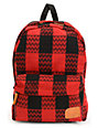 Vans Deana Red & Black Backpack
