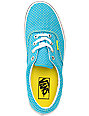 Vans Era Enamel Blue & Yellow Polka Dot Shoes