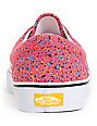 Vans Era Overspray Red Skate Shoes (Mens)