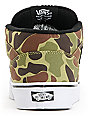 Vans Half Cab Camo & Black Skate Shoes (Mens)