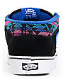 Vans Half Cab Inca Black Suede Skate Shoes (Mens)