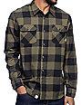 Vans Hixton Olive & Black Flannel Shirt