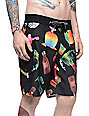 Vans Isla Vista Black Boardshorts