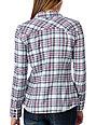 Vans Kalamazoo White Plaid Flannel Shirt