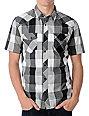 Vans Kearny Grey Plaid Woven Shirt