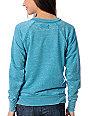 Vans Motion Teal Crew Neck Sweatshirt