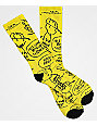 Vans x Peanuts Charlie Brown Yellow Crew Socks
