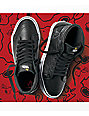 Vans x Peanuts Sk8-Hi Embossed Snoopy Black Skate Shoes