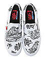 Vans x Sketchy Tank Slip-On Pro Skate Shoes