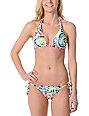 Vitamin A Bubble Dots Tie Side Bikini Bottom