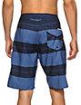 Volcom 12th St Blue Stripe 21 Board Shorts