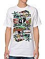 Volcom Bandwagon White T-Shirt