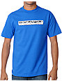 Volcom Bar Graph Blue T-Shirt